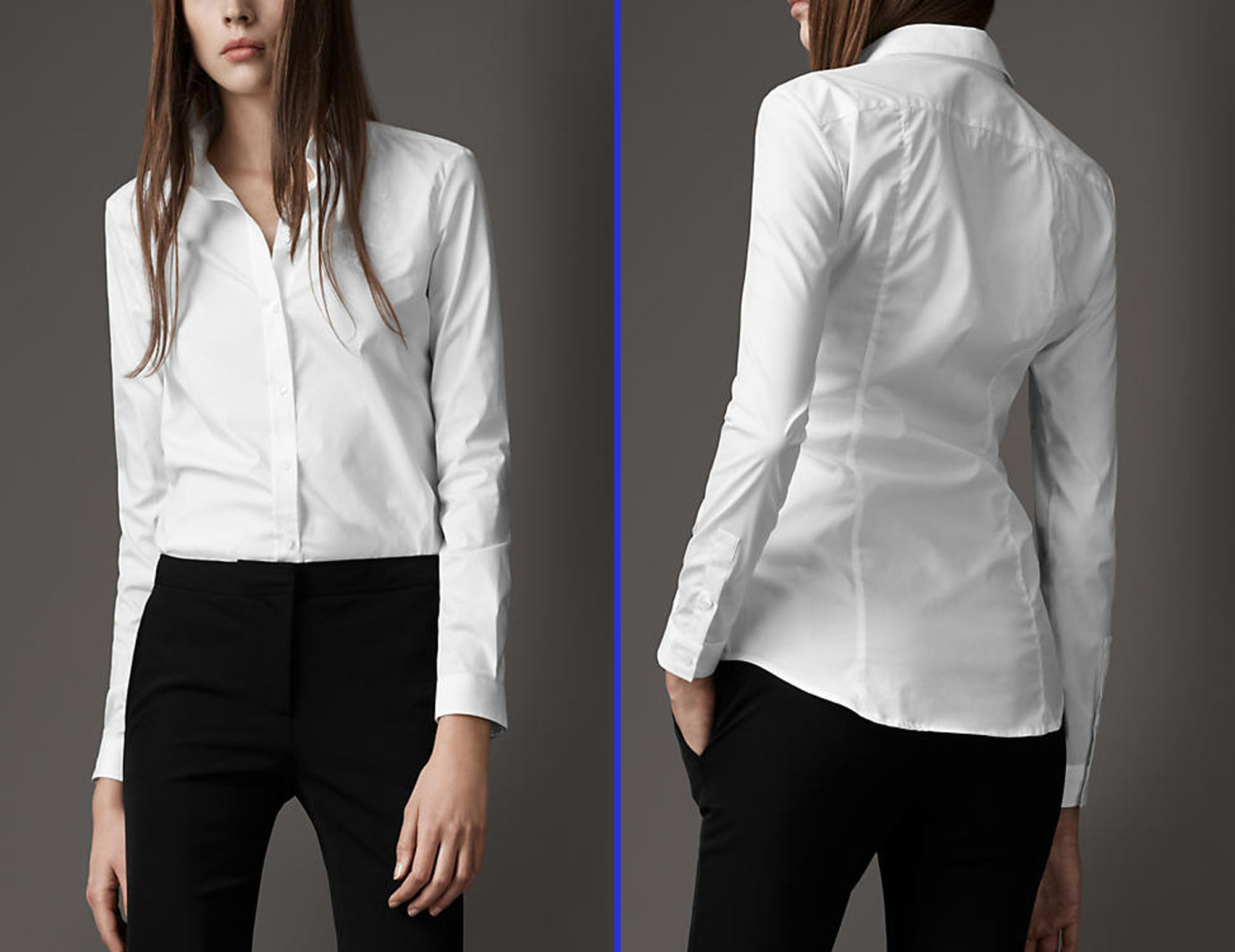 Youth White Blouse 34