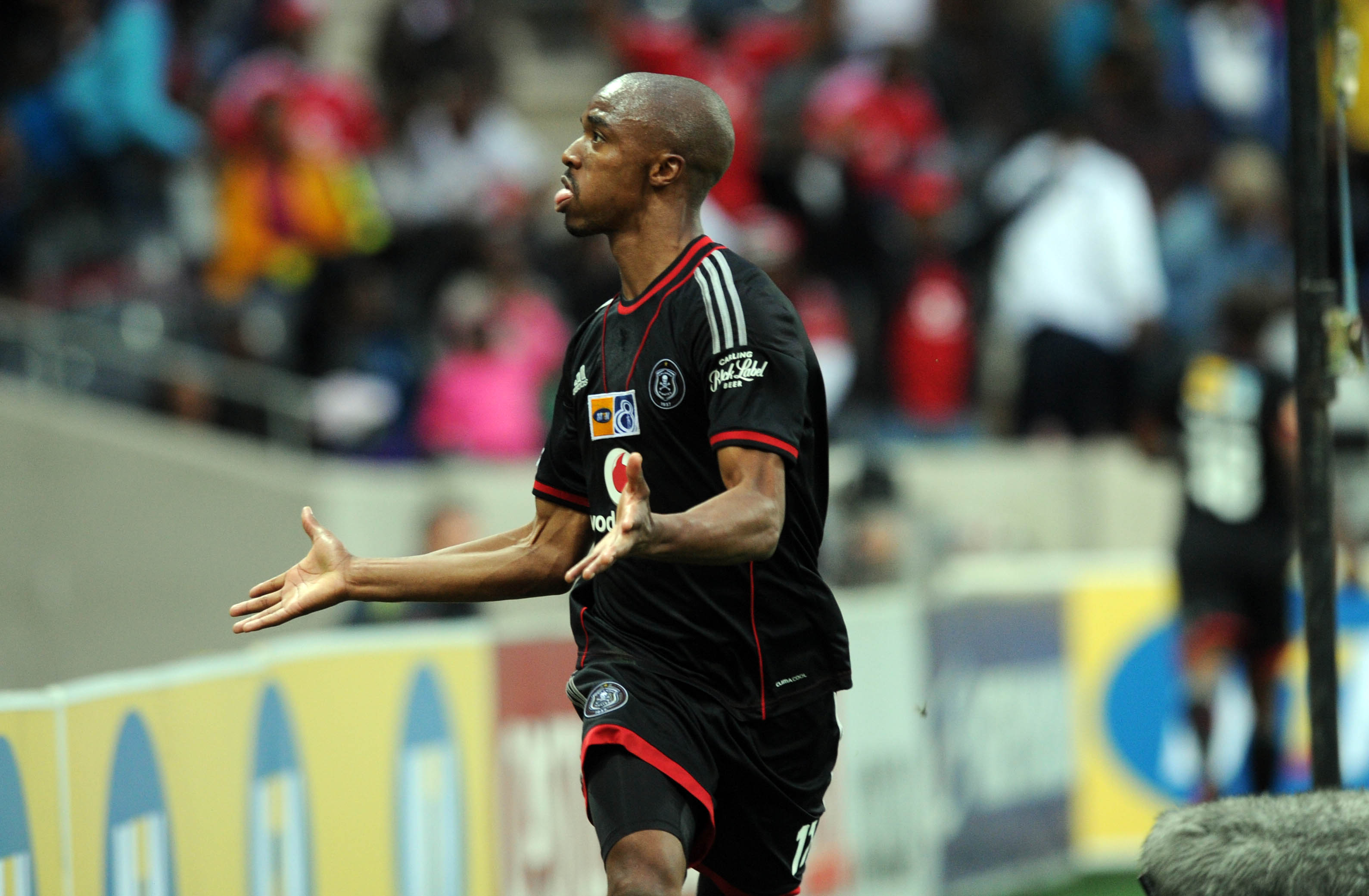 Football - 2013 MTN8 - Quarter Final - Orlando Pirates v Supersport United - Mbombela Stadium